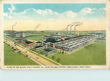 A Bird's Eye View Of The Mason Tire & Rubber Company, Kent, Ohio OH