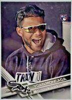 2017 Topps Update #US200 Yoan Moncada PHOTO VARIATION SP Rookie White Sox RC