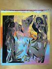 "Painting-Ringo (Steve Kaufman Protege),""Picasso"" Signed- Steve Kaufman and Ringo"
