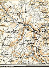 Nohn Ahütte Wiesbaum 1923 Teilkarte/Ln. Üxheim Loogh Reetz Ahrhütte Dollendorf