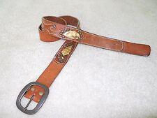 Trafalgar Leather Belt Sz 36
