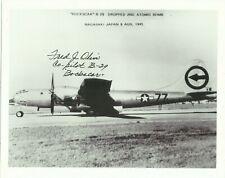 More details for bockscar b29 b/w photograph, originally signed by fred j olivi (1921-2004)!