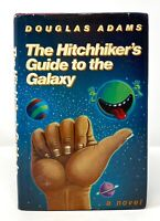 Douglas Adams - The Hitchhiker's Guide to the Galaxy - 1st 1st 1st ISSUE DJ