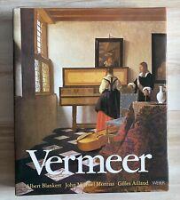 Blankert Montias Aillaud: VERMEER Kunst Geschichte Bildband WEBER Buch gebunden