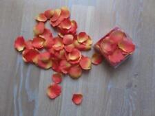 Rosenblätter / Blütenblätter - Textil / Stoff - 2 x IKEA SMYCKA - orange - NEU