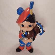 Hand Painted Plaster Bagpiper (1998)