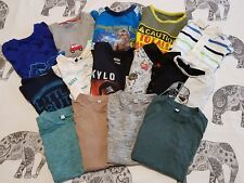 Huge Boys T-shirt Bundle Age 5-6 Inc Next M&S TU Minecraft Star wars etc