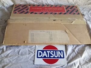 Datsun 64-67 410 411 520 J13 NOS Engine Gasket Set 10101-08100