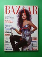 Harper's Bazaar Italy July August 1989 July 7-8 Fashion Jane Seymour Guy Bourdin
