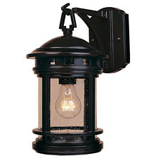 Outdoor 1 Bulb Lantern 120V Wall Mount Porch Light Fixture Deck Entry Way Lamp