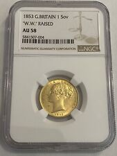 More details for 1853 g britain victoria gold sovereign
