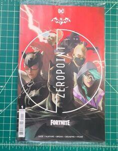 Batman Fortnite Zeropoint #1 (2021) NM+ DC Comics Sealed Cover A