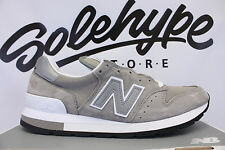 NEW BALANCE 995 PREMIUM GREY SUEDE 2017 MADE IN USA M995GR SZ 11.5