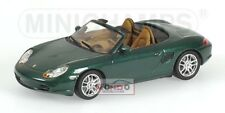 Porsche Boxster 2002 Green Metallic 400062034 1:43 Model Diecast