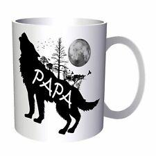 Papa Wolf Wild Nature 11oz Mug u480