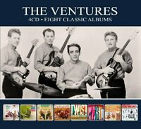 VENTURES - 8 CLASSIC ALBUMS  4 CD NEU