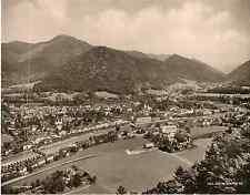 Photoglob, Suisse, Saint Moritz  vintage photomechanical,  Photomécanique