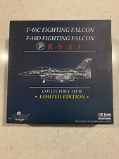 Witty Wings RSAF F-16D WTW-72-011-007 Diecast 1:72 Singapore Air Force