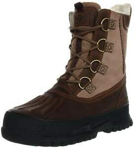 Helly Hansen Womens Mylla Rand Crazy Horse Brown Black Winter Snow Boots