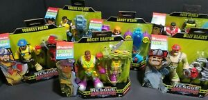 Rescue Heroes Action Figures:Billy/Reed/Rocky/Sandy/Carlos/Forrest Available NEW