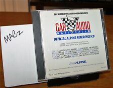 CAR AUDIO NATIONALS II💎1988 Official /////ALPINE Reference CD🎼RARE & HTF👀📣👓