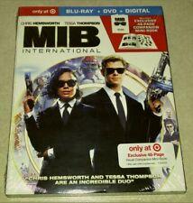 New Men in Black International Blu-ray/Dvd/Digital + Mini Book Target Exclusive