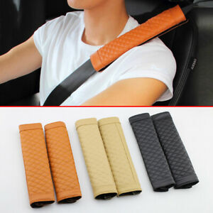 Car Interior Seat Safety Shoulder Protective Pads Belt Cushion Cover Accessories