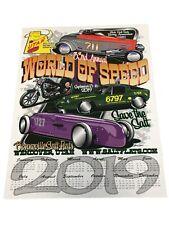 Saab Poster Bonneville Land Speed Racing Speed Week World Finals