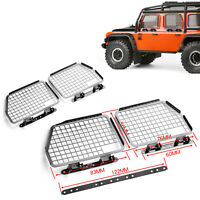 GRC Metal Window Guard Mesh Protection Net for 1/10 RC Crawler TRX4 D90 D110