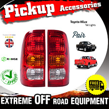 Toyota Hilux Hi lux Pickup Truck Rear Tail Light Lamp 2005-2010 Pair 2 PC Full