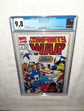 Marvel Comics 1992 The Infinity War #2 CGC 9.8 Thanos Avengers Endgame Starlin
