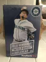 FELIX HERNANDEZ 2018 BOBBLE HEAD INFIELD GRASS NEW IN BOX