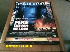 Fire Down Al Di Sotto (Steven Seagal) FILM POSTER A2