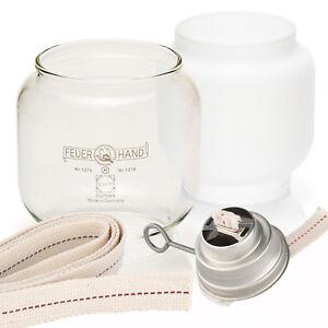 Petromax Feuerhand Ersatzteile 276 Baby Special Sturmlaterne Glas Camping Lampe