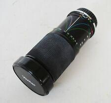 Vivitar 28-210mm f3.5-5.6 Macro Focusing Zoom Lens Manual Focus Camera