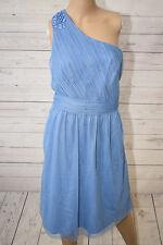 Esprit Collection Damen Kleid Gr. 40 blau