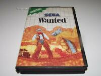 Wanted Sega Master System PAL Preloved *Complete* Light Phaser Game