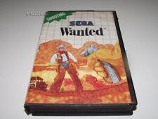 Wanted Sega Master System PAL Preloved *Complete* Light Phaser Game