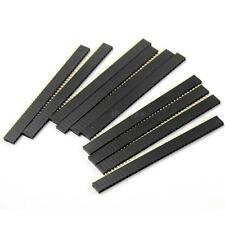 10pc Hot 1*40Pin Single Row Female 2.54mm Breakable Header Connector For Arduino