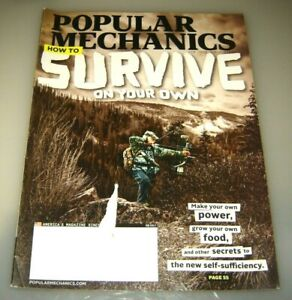 Popular Mechanics Magazine February 2017 How to Survive on Your Own