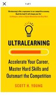 """""""Ultralearning: Seven Strategies For Mastering Hard Skills And Getting Ahead"""""""