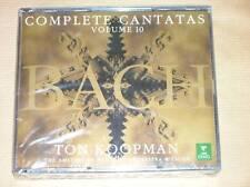 3 CD / TON KOOPMAN / BACH COMPLETE CANTATAS VOL 10 / RARE / NEUF SOUS CELLO