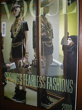Vogue.Spring's Fearless Fashions,Claudia Schiffer,Beyoncé Knowles,iii
