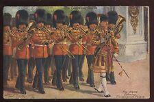 Military Coldstream Guards Buckingham Palace ORIGINAL Harry Payne PPC 1915
