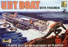 2012 revell SSP 85-0313 1/35 U.D.T. Boat with Frogmen Plastic Model Kit new