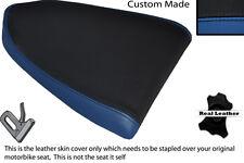 BLACK & ROYAL BLUE CUSTOM FITS APRILIA RSV RSVR 1000 04-08 REAR SEAT COVER