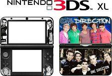 NINTENDO 3ds XL 3dsxl 3DS XL One Direction 1d Música carcasa de Vinilo pegatina