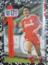 Hofer Peter Beardsley plus 8 other 1990/91 ProSet British soccer cards Vg