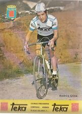 ANDRES OLIVA Cyclisme ciclismo Cycling TEKA 79 Tour de France vélo campagnolo