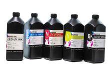 More details for led uv ink 1 litre (hard ink) for uv printer certified ink by toshiba
